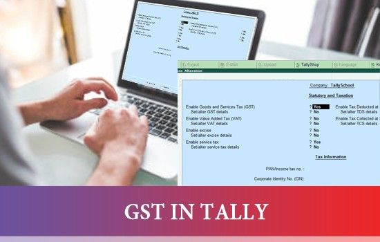 GST in TALLY - ONLINE COURSE}