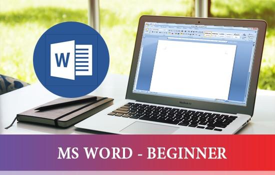 MS WORD - BEGINNER}