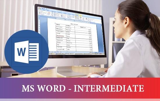 MS WORD - INTERMEDIATE}